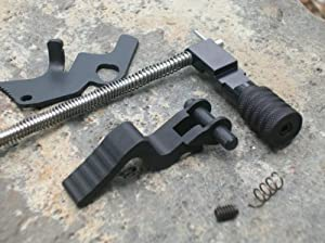 Ruger 10 22 Combo Pack Straight Tac Mod Charging Handle & Magazine Pull Release... by Rimfire Technologies