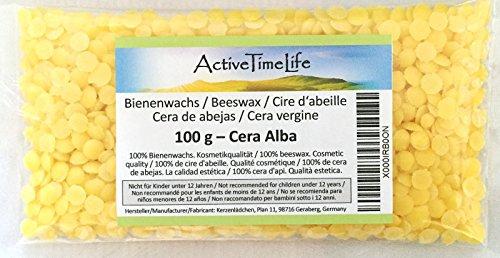 100% reine Bienenwachs Pastillen, 100 g thumbnail