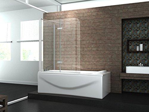 eck duschtrennwand around 75 badewanne. Black Bedroom Furniture Sets. Home Design Ideas
