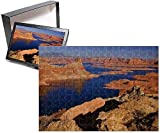 Photo Jigsaw Puzzle Of Lake Powell Panoramic View Onto Lake Powell And Canyons And Buttes Of Red