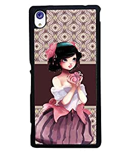 Printvisa 2D Printed Girly Designer back case cover for Sony Xperia M4 Aqua - D4363