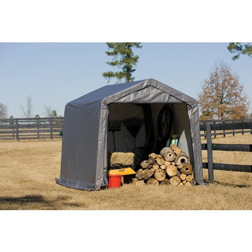 Images for ShelterLogic 10X10X8 E Series Shed (Gray)