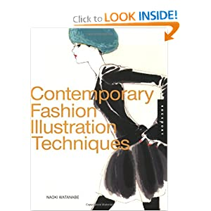 Contemporary Fashion Illustration Techniques - Naoki Watanabe