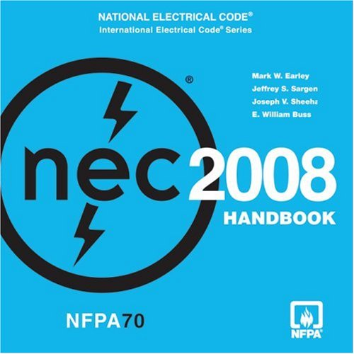 Best Price National Electrical Code 2008 Handbook on CD-ROM International Electrical Code087765915X