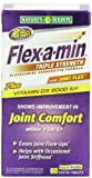 Flex-A-Min Glucosamine + Chondroitin + MSM, Maximum Strength, Coated Caplets, 60 coated tablets