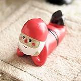 まったりマスコット クリスマス 頬づえ サンタ