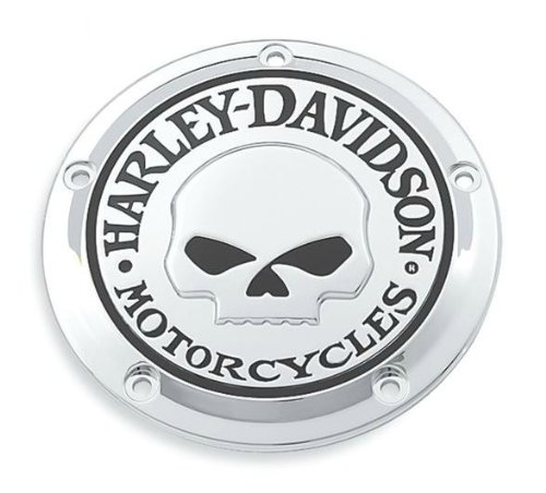 Coperchio Accensione Frizione Willie G. Skull Twin Cam ed Evolution Harley Davidson