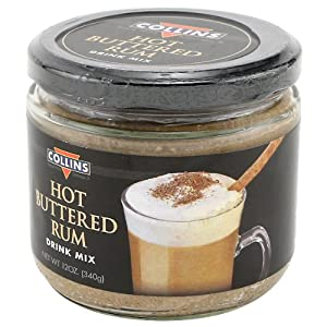 Amazon.com : Hot Buttered Rum Batter Mix : Cocktail Mixes : Grocery ...