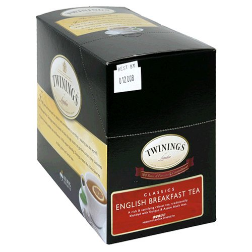 Twinings English Breakfast Tea, 25-Count K-Cups For Keurig Brewers (Pack of 2)