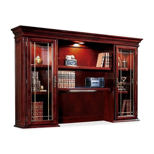 DMI Office Furniture Executive Overhead Storage Unit, 72 by 15 by 50-Inch, Cherry