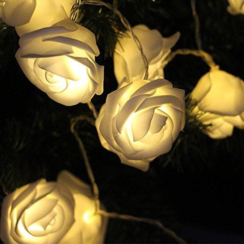 Denknova-rosefrmig-warm-wei-Lichterkette-batteriebetrieben-innere-Weihnachten-Dekoration-10-LED