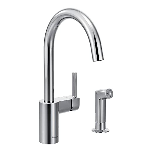 Moen 7165 Align One-Handle High Arc Kitchen Faucet, Chrome