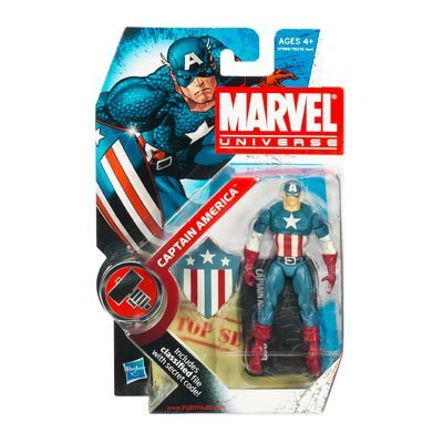 Marvel Universe Wave 7 Captain America Action Figure