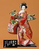 日本人形 尾山人形 Japanese Doll 人形のみ 極上本頭 友禅 平安 京洛ものがたり 6号 入目 柴田家千代作 sk-kyorak973