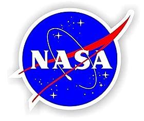 """Nasa Seal USA Space Cosmos Logo Vinyl Sticker 2"""""""