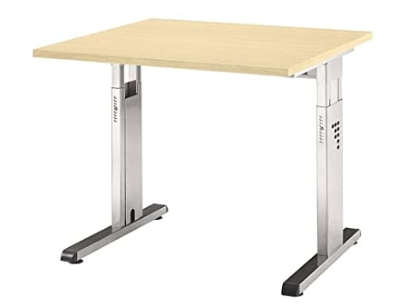 OS08 Desk, Maple/Black