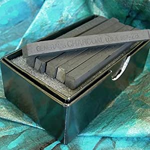 12 Stick Per package Pro Art PRO-3021 Chalk Charcoal
