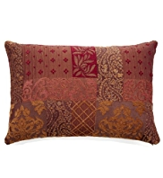 Patch Jacquard Cushion