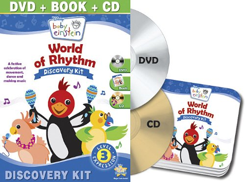 Baby Einstein: World Of Rhythm Discovery Kit (Dvd/ Cd/ Board Book) front-478912