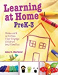 Learning at Home Pre K-3: Homework Ac...