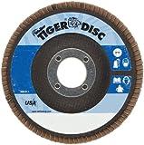 Weiler Tiger Abrasive Flap Disc, Type 29, Round Hole, Phenolic Backing, Zirconia Alumina