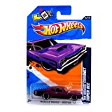 2012 Hot Wheels Muscle Mania - Mopar '69 Dodge Coronet Super Bee Purple #84/247