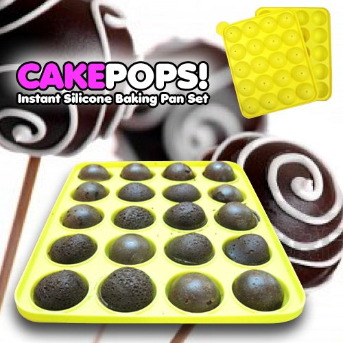 find cake pans shapes cake pops instant silicone baking pan set. Black Bedroom Furniture Sets. Home Design Ideas