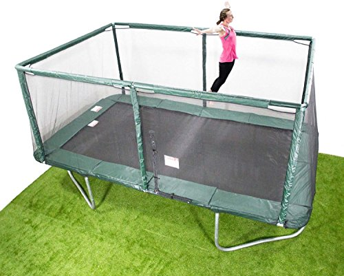Yopih 9x14ft IN GROUND Rectangle Trampoline - Inc. Pads/Mat/Springs/Frame Pre-Order ,Dispatched On...