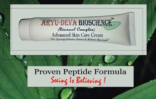 Anti-Aging Matrixyl & Argireline Peptide Wrinkle Cream & Firming Serum (Aryu-Deva BioScience Renewal Complex)
