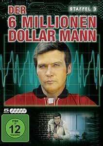 Der 6 Millionen Dollar Mann - Staffel 3 [5 DVDs]