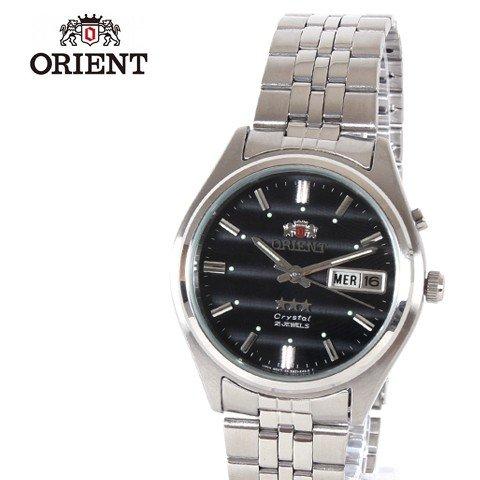 (オリエント) ORIENT 海外モデルAUTOMATIC自動巻きマルチカレンダー腕時計 サイズフリー ネイビー-NAVY