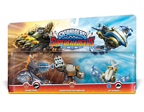 Skylanders SuperChargers Triple Character Photo