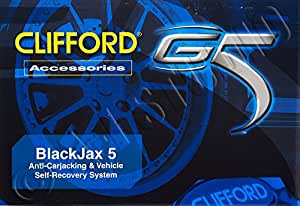 Install Essentials 909505 Clifford Blackjax 5 Immobilizer G5 Auto Security System and Alarm
