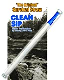 EMERGENCY WATER FILTER STRAW | DON'T DRINK THE WATER WITHOUT THIS STRAW! Don't Put Your Health At Risk! You Want To Drink Clean Water From A Straw That Filters Drinking Water Whenever You Are Not Sure About It? Don't Get Sick From Not Using A Clean Water Straw! A Life Straw Water Filter System Straw That Won't Put Your Health At Stake By Drinking Contaminated Water Wherever You Go! These Water Filter Straws Will Give You The Peace of Mind You Need! - Amazing Online Retail, LLC - Authorized Distributor
