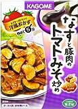 カゴメ なすと豚肉のトマトみそ炒め 100g×10個