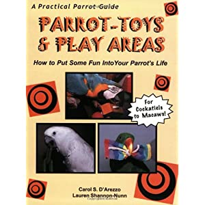 Parrot-Toys and Play Areas : How To Put Some Fun Into Your Parrot's Life