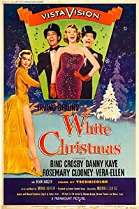 white christmas poster movie d 11 x 17 inches 28cm x