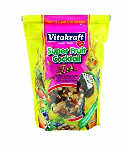 Vitakraft Super Fruit Cocktail and 20-Ounce Pouch