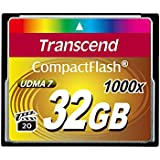 Transcend 32 GB Compact Flash Card (TS32GCF1000)