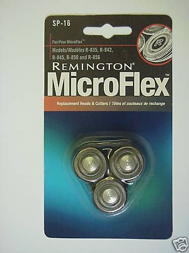 REMINGTON MicroFlex Replacement Heads & Cutters -SP-16