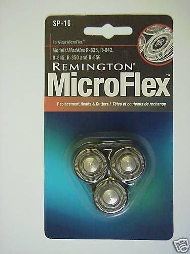 REMINGTON MicroFlex Replacement Heads & Cutters -SP-16