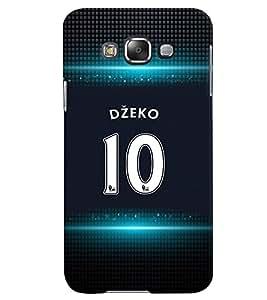 PRINTVISA Football Dzeko Case Cover for Samsung Galaxy E5