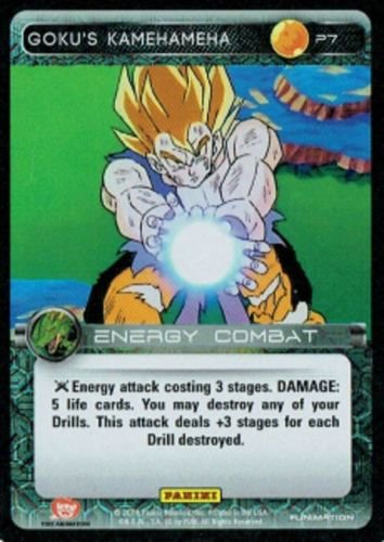 2014 Dragon Ball Z Promo Card #P7 Goku's Kamehameha Play Set (3 DBZ Cards) Limited Edition