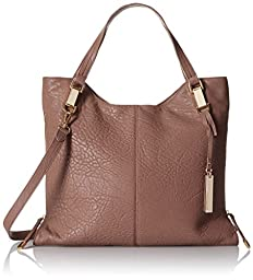 Vince Camuto Riley Tote Shoulder Bag, Chai Latte, One Size