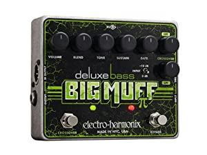 Tony Levin on the Electro-Harmonix Deluxe Bass Big Muff Pi