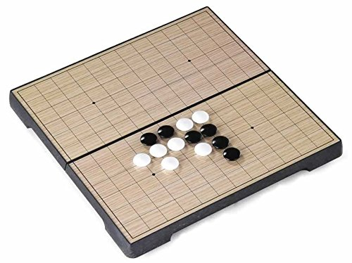 Jouetprive-Mini jeu de Go magnétique pliable Quentin