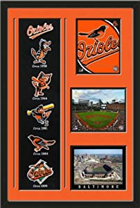 Baltimore Orioles Banner With Logos - Baltimore Orioles Team Logo photo, Oriole Park... by Art and More, Davenport, IA
