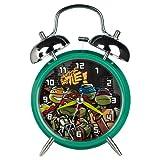 Teenage Mutant Ninja Turtles Twin Bell Alarm Clock