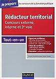 Concours Rédacteur territorial: Tout-en-un...