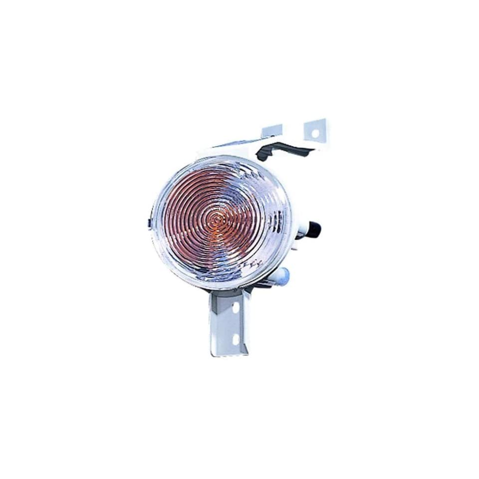 Depo 882 1602R UQ Mini Cooper Passenger Side Replacement Parking/Signal Light Unit without Bulb